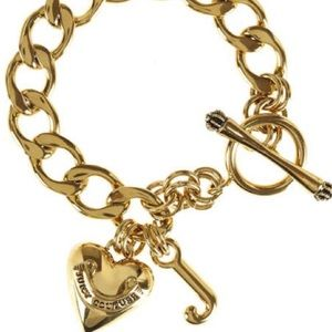 ✨Juicy Couture Gold Charm Bracelet✨